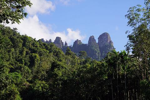 七仙岭温泉旅游景点攻略图