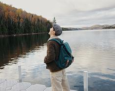 加拿大游记|我们在魁北克森林里待了5天,每天都想尖叫