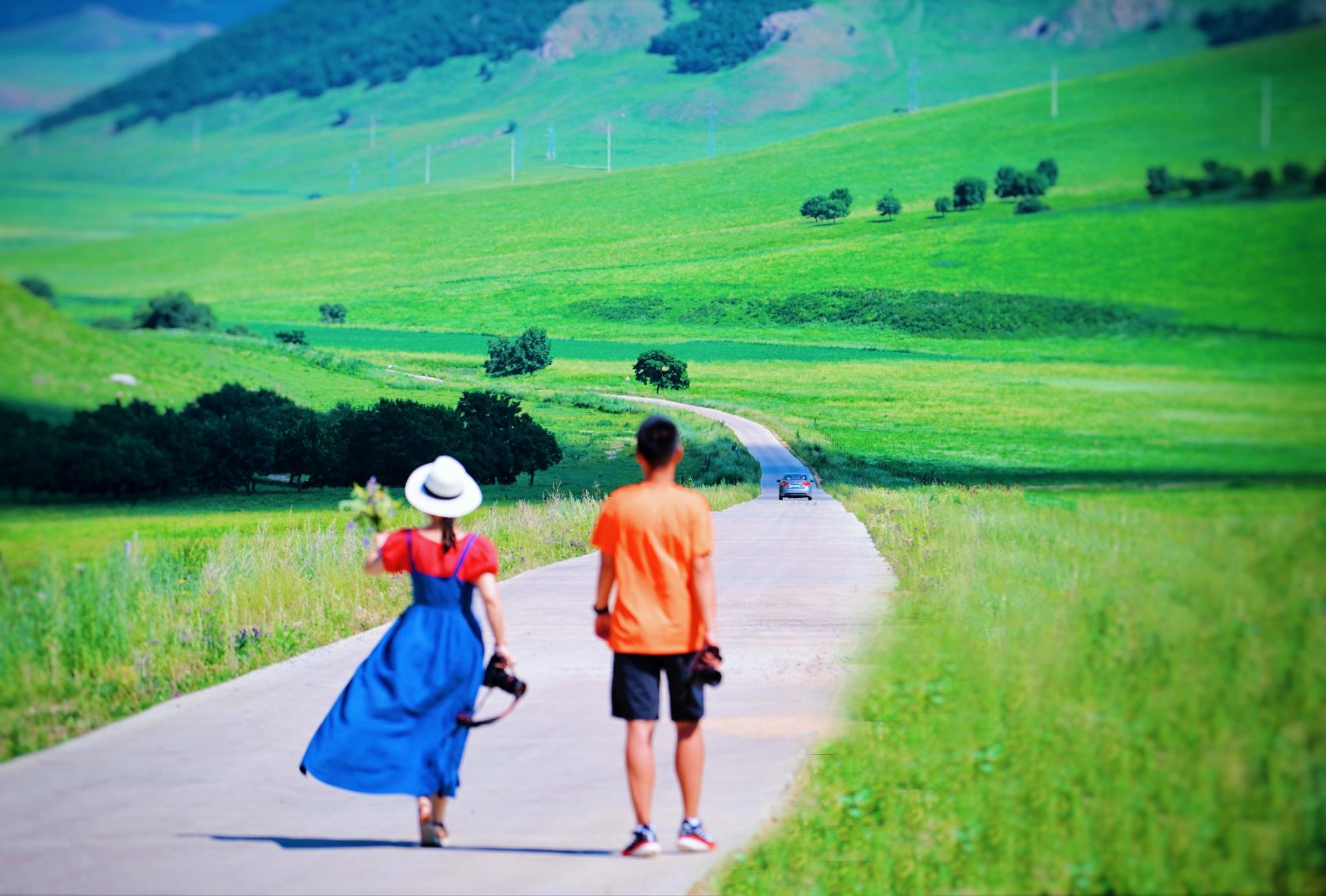 豪情自驾内蒙古科右前旗 心归乌兰毛都大草原