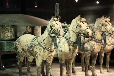 铜车马展厅旅游景点攻略图