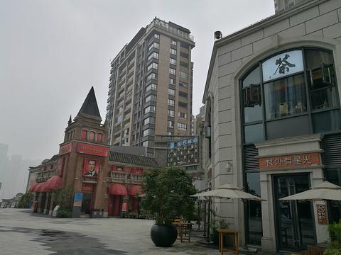 长嘉汇弹子石老街旅游景点图片