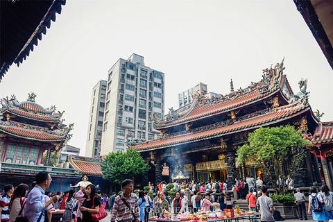 艋舺龙山寺旅游景点攻略图