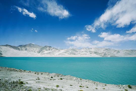 白沙山和流沙河旅游景点图片