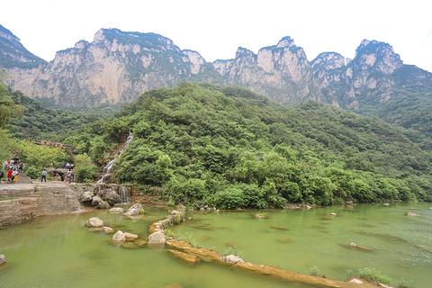小寨沟旅游景点攻略图