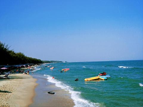 七岩海滩旅游景点图片