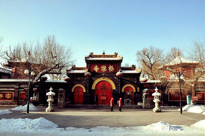 哈尔滨极乐寺门票_2021哈尔滨极乐寺是东北地区著名佛教圣地,也是哈尔滨香火最旺 ...