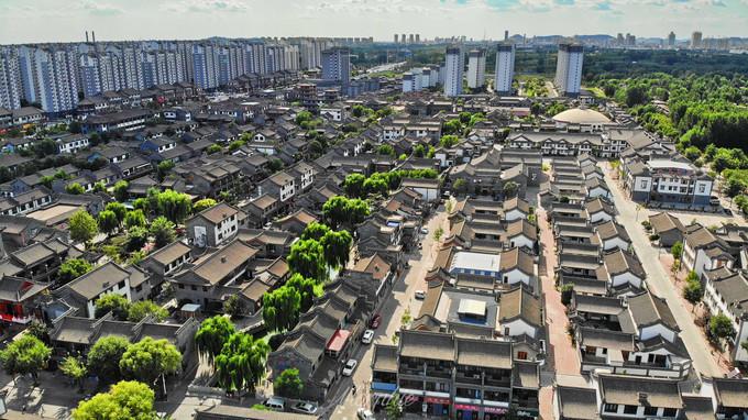 滦州古城图片