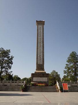 麻城烈士陵园旅游景点攻略图
