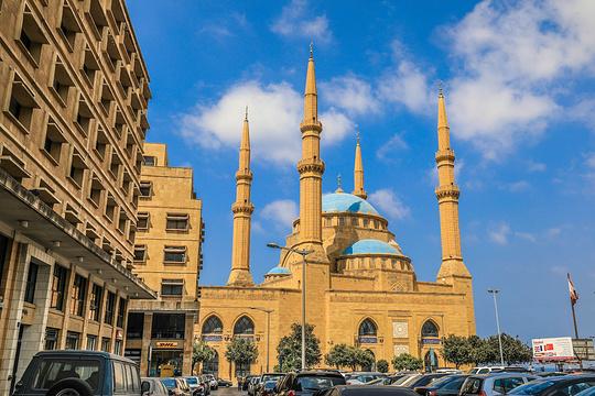 贝鲁特蓝色清真寺旅游景点图片