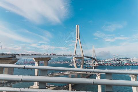 广安大桥旅游景点攻略图