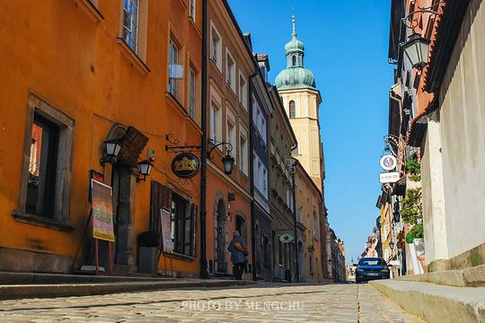 华沙老城旅游景点图片