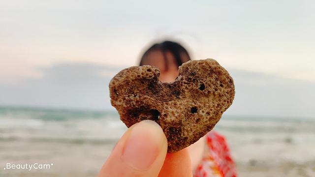 涠洲岛贝壳沙滩旅游景点图片