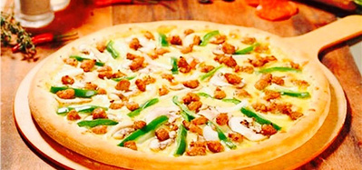 超爽披萨:烤制1h拉丝1m长,馅倍足皮超酥,热乎乎…吃到嘴里太幸福!