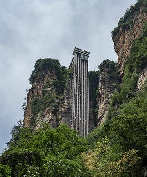百龙电梯旅游景点攻略图
