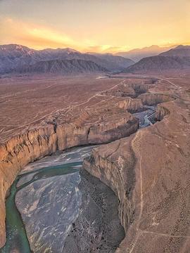讨赖河峡谷旅游景点攻略图
