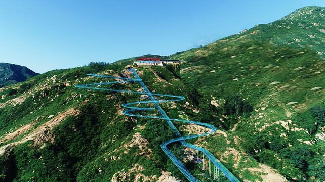 黄金寨原生态旅游区旅游景点图片