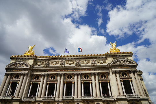 巴黎歌剧院广场旅游景点图片