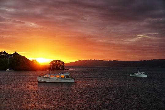 陶波湖旅游景点图片