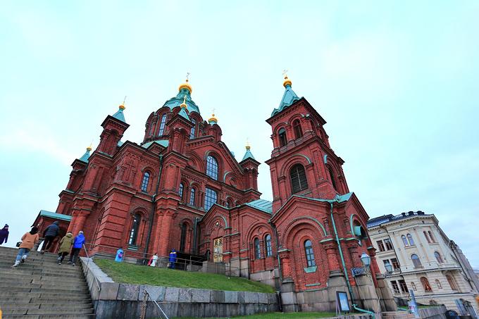 赫尔辛基大教堂图片