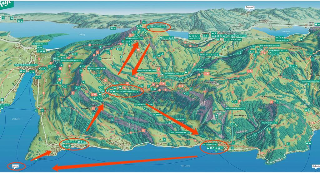 瑞吉山旅游导图