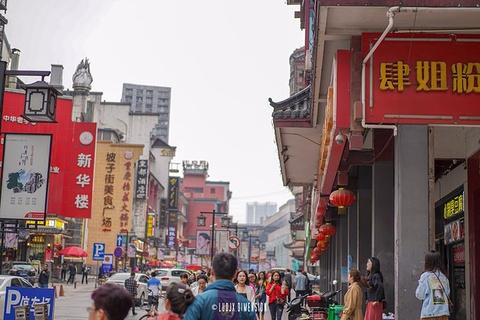 坡子街商业街旅游景点攻略图