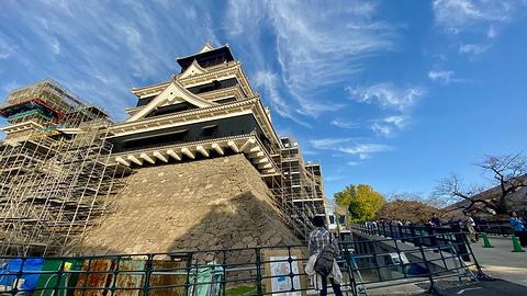 熊本城旅游景点攻略图