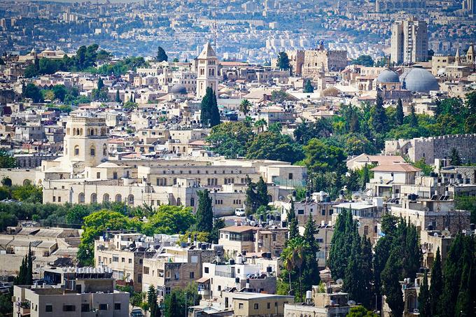 耶路撒冷老城图片