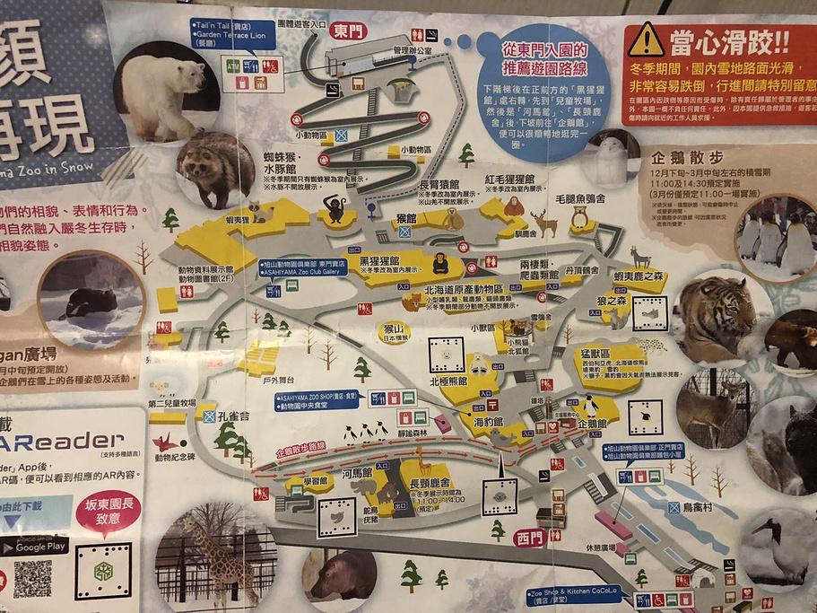 旭山动物园旅游导图