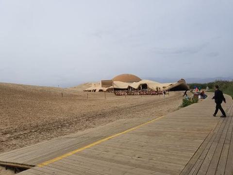大漠沙湖滑雪场旅游景点攻略图