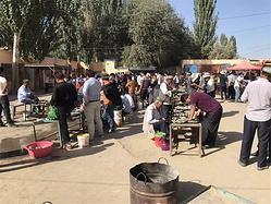 带你领略新疆和田玉石巴扎的千姿百态