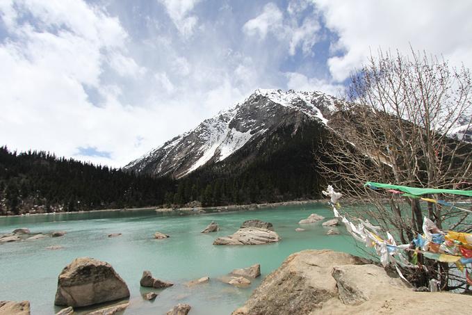 米堆冰川 然乌湖 72拐图片