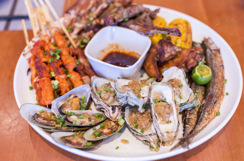 3、在度假酒店吃海鲜烧烤是怎样的享受?图片