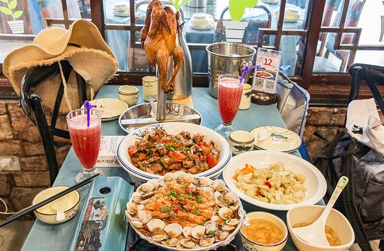 谢三姐金奖啤酒鱼私房菜店旅游景点图片