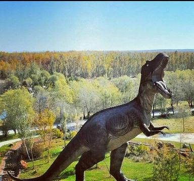 嘉荫恐龙国家地质公园旅游景点攻略图