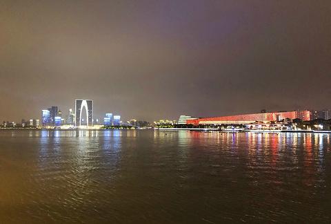 金鸡湖旅游景点攻略图