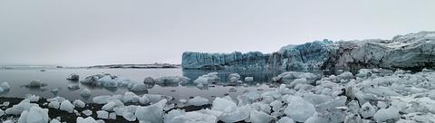 Fjallsarlon冰河湖