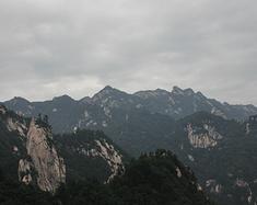 河南游记之鲁山尧山
