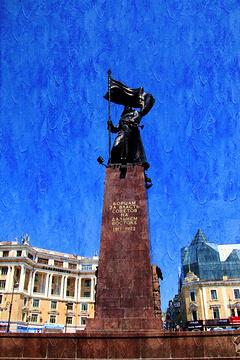 远东苏维埃政权战士纪念碑