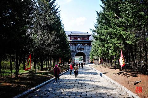 威虎山九寨景区旅游景点攻略图