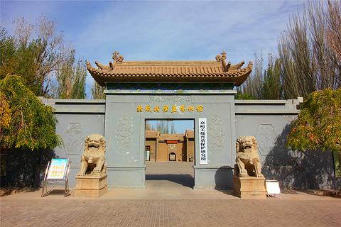 新城魏晋壁画墓旅游景点攻略图