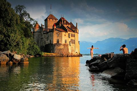 西庸城堡旅游景点攻略图