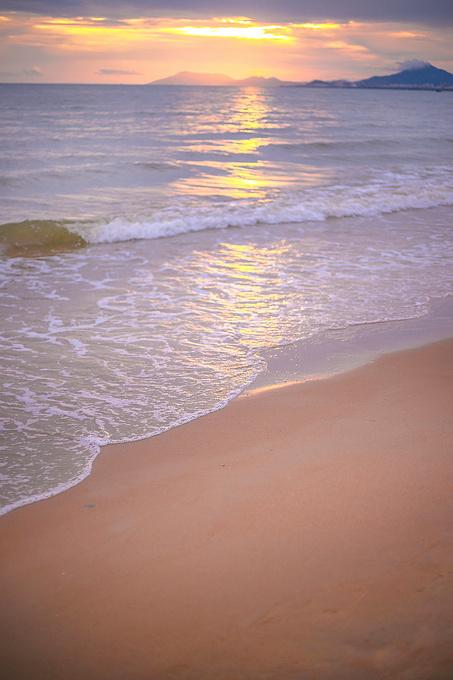 椰梦长廊,亚洲第一大道的日落图片