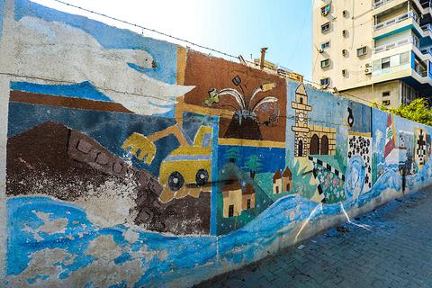 的黎波里老城区的图片