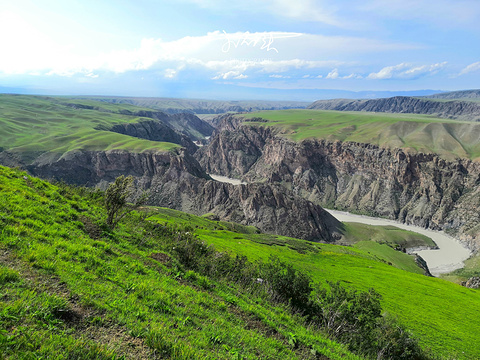 阔克苏大峡谷旅游景点图片