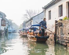冬日邂逅江南第一水乡,有一种生活叫周庄