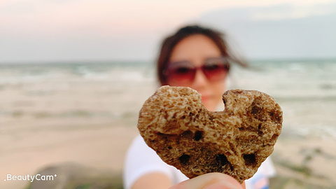 涠洲岛贝壳沙滩旅游景点攻略图