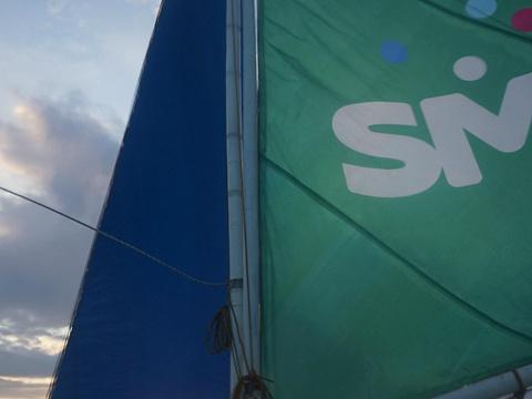 长滩岛落日风帆体验旅游景点图片