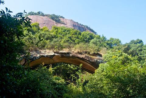 通泰桥(天生桥)旅游景点攻略图