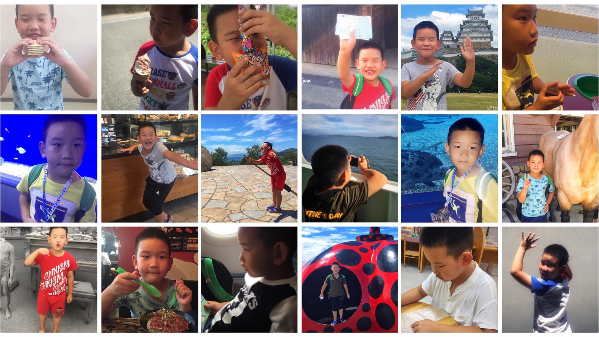 一娃一妈环濑户内海11日10城散游记-前半程艺术,后半程玩乐