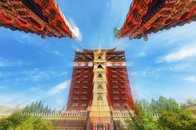 国庆自驾川藏滇藏怕高反忧路险 不妨到这藏区 海拔低路况好车辆少景美爆!